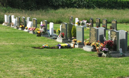 st albans new churchyard